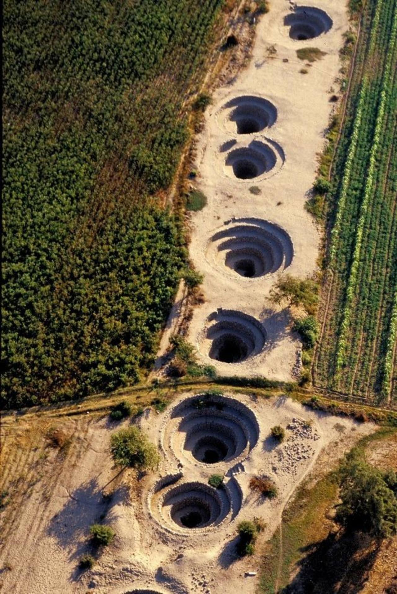 Los puquios, una obra de ingeniería hidráulica