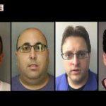 Algunos de los presuntos predrastas que trabajaban para Disney. foto edh / CAPTURA DE LA cadena CNN
