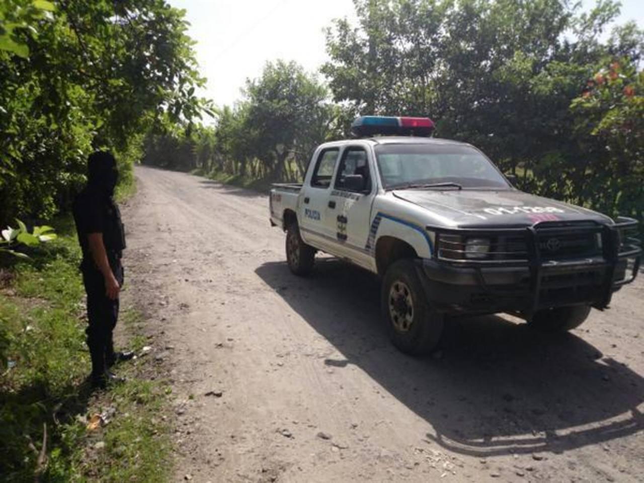 Matan a policía en calle hacia Aguilares
