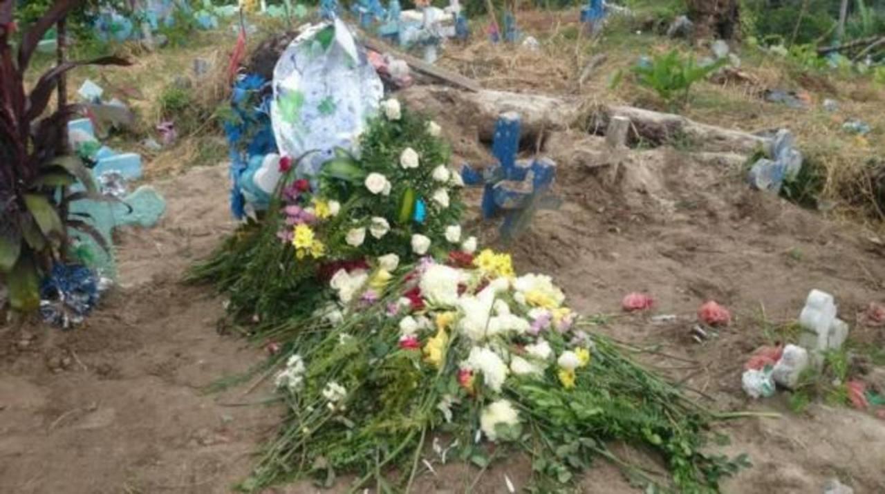 Entierran a niño de 10 años asesinado en Cuscatlán