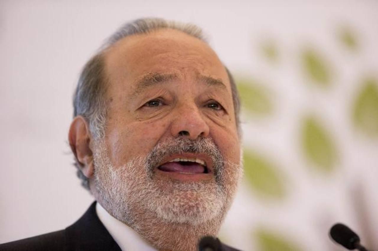 Carlos Slim, el hombre más rico del mundo, deberá acatar la nueva legislación. Foto EDH/ Archivo