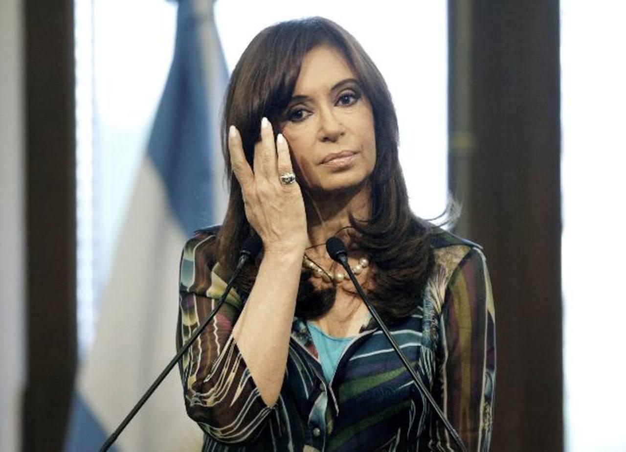 La presidenta argentina, Cristina Fernández, ha criticado reiteradas veces a los acreedores. foto edh
