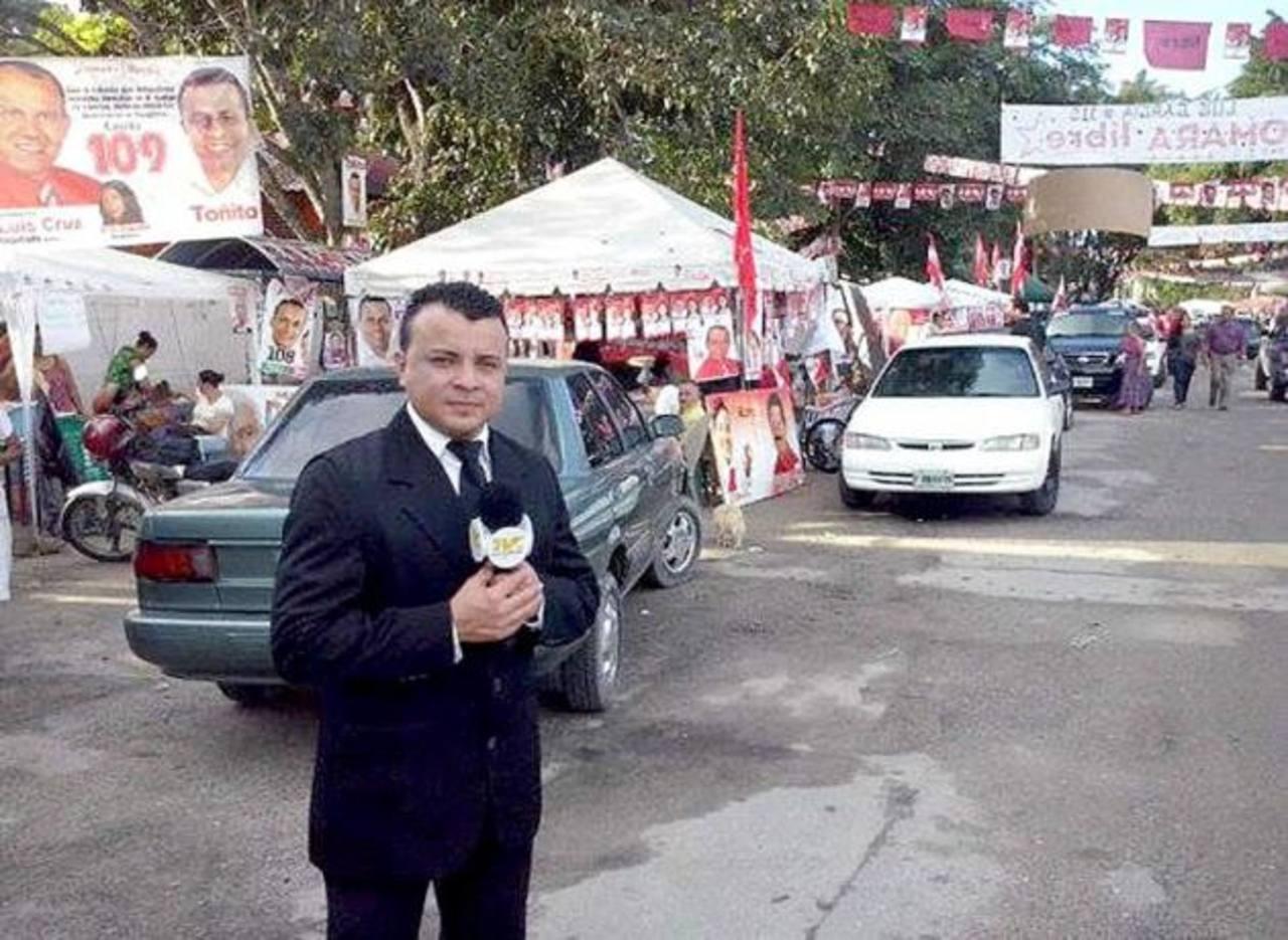 La muerte del periodista Herlyn Espinal, coordinador del noticiero Hoy Mismo de la zona norte, ha conmocionado al gremio periodístico. foto edh / http://www.elheraldo.hn/