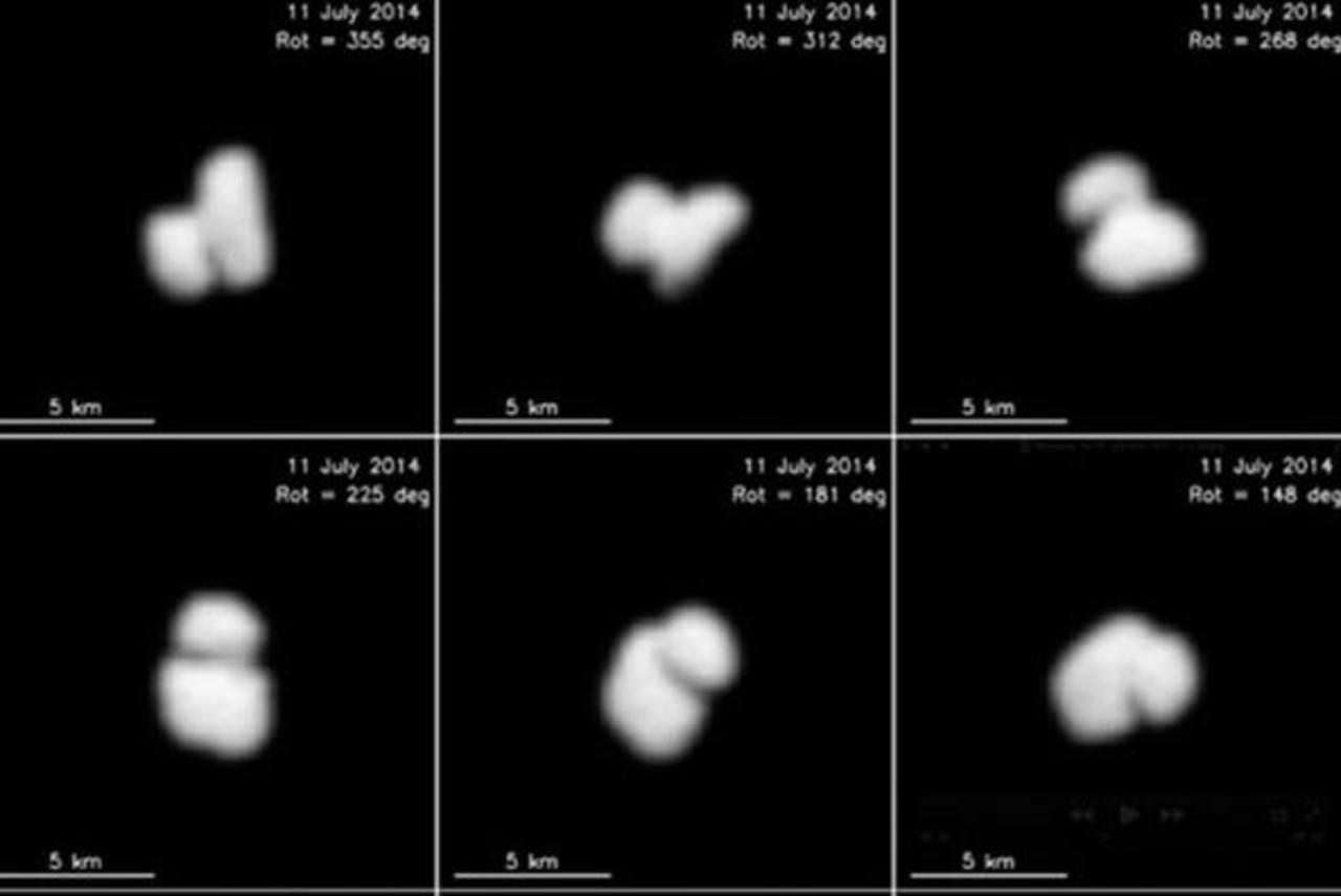 Sonda Rosetta descubre que cometa podría ser doble