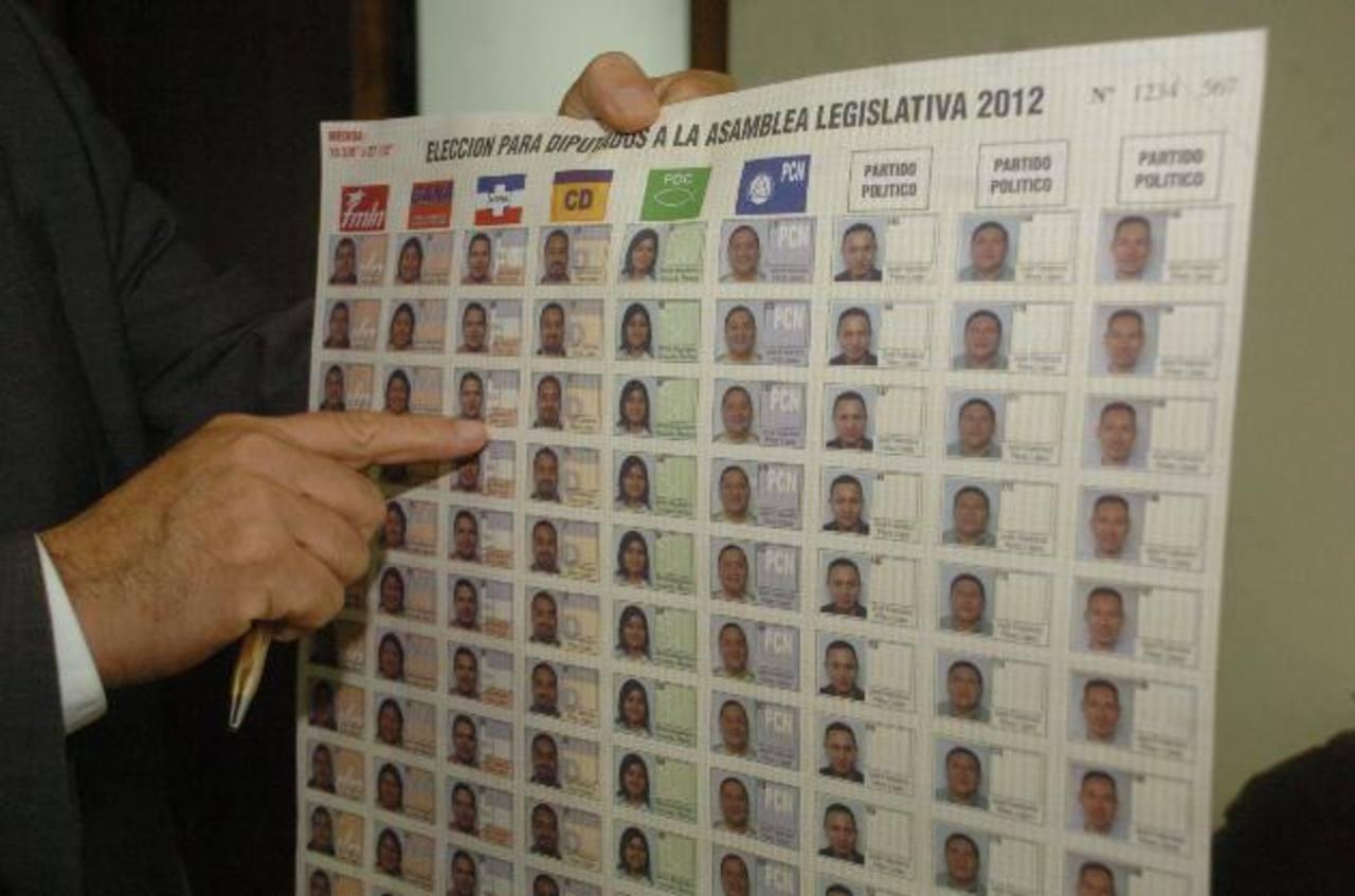 Eugenio Chicas advierte que están fuera de tiempo para aplicar el voto cruzado.