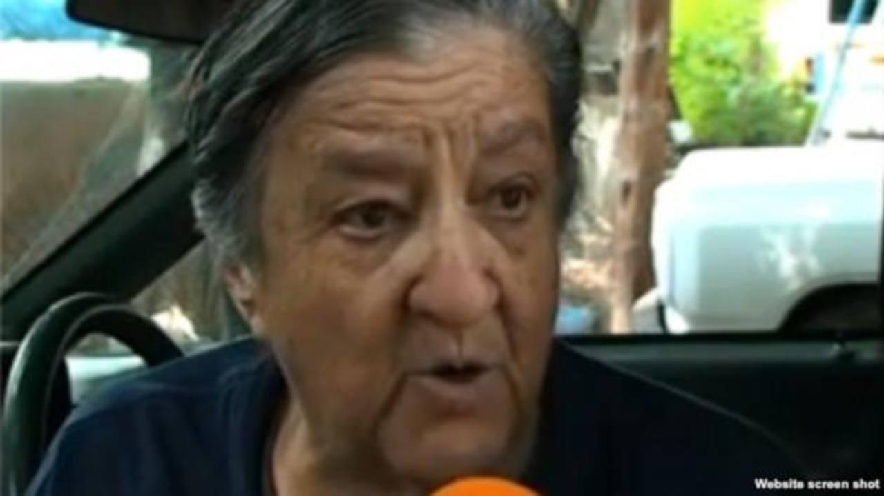 """Rosa Verduzco, la octogenaria fundadora del albergue """"La Gran Familia"""" de la ciudad de Zamor. foto edh / efe"""
