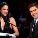 Fotos: Michelle Rodríguez y Zac Efron podrían estrenar romance