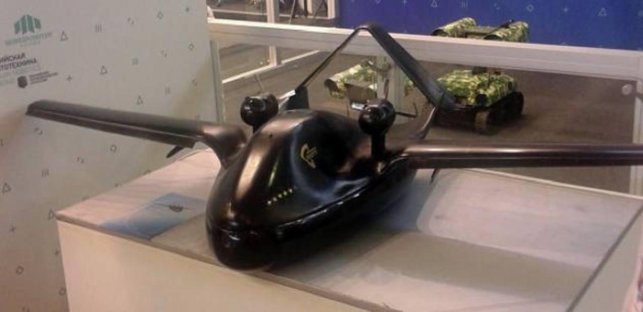 """Desarrollan """"Chirok"""", el drone con aerodeslizador"""