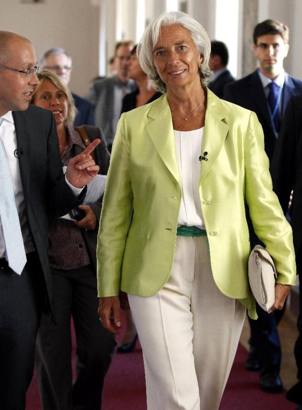 Christine Lagarde, directora- gerente del FMI.