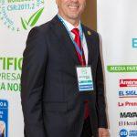 Daniel Javier, director de RSE de World Confederation of Businesses (WORLDCOB) de Estados Unidos , estará en la Segunda Semana de la RSE. Foto EDH / Cortesía