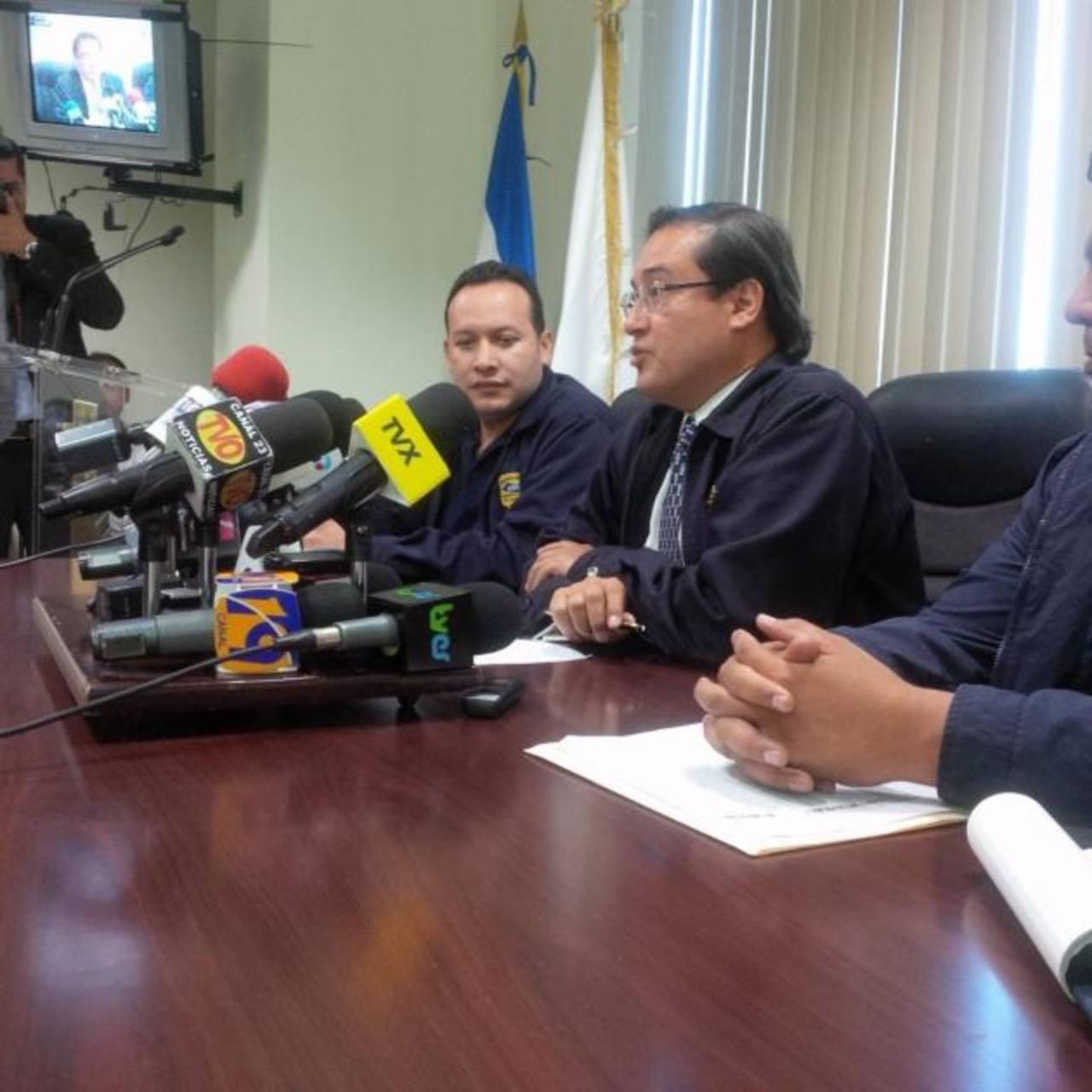 El Fiscal General, Luis Martínez, dio detalles de la operación.