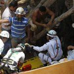 Rescate de 8 atrapados en mina en Honduras entre el peligro y malos augurios