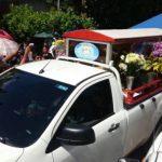 Noé Bonilla fue enterrado el viernes en San José Villanueva, tras ser asesinado con arma de fuego por pandilleros.