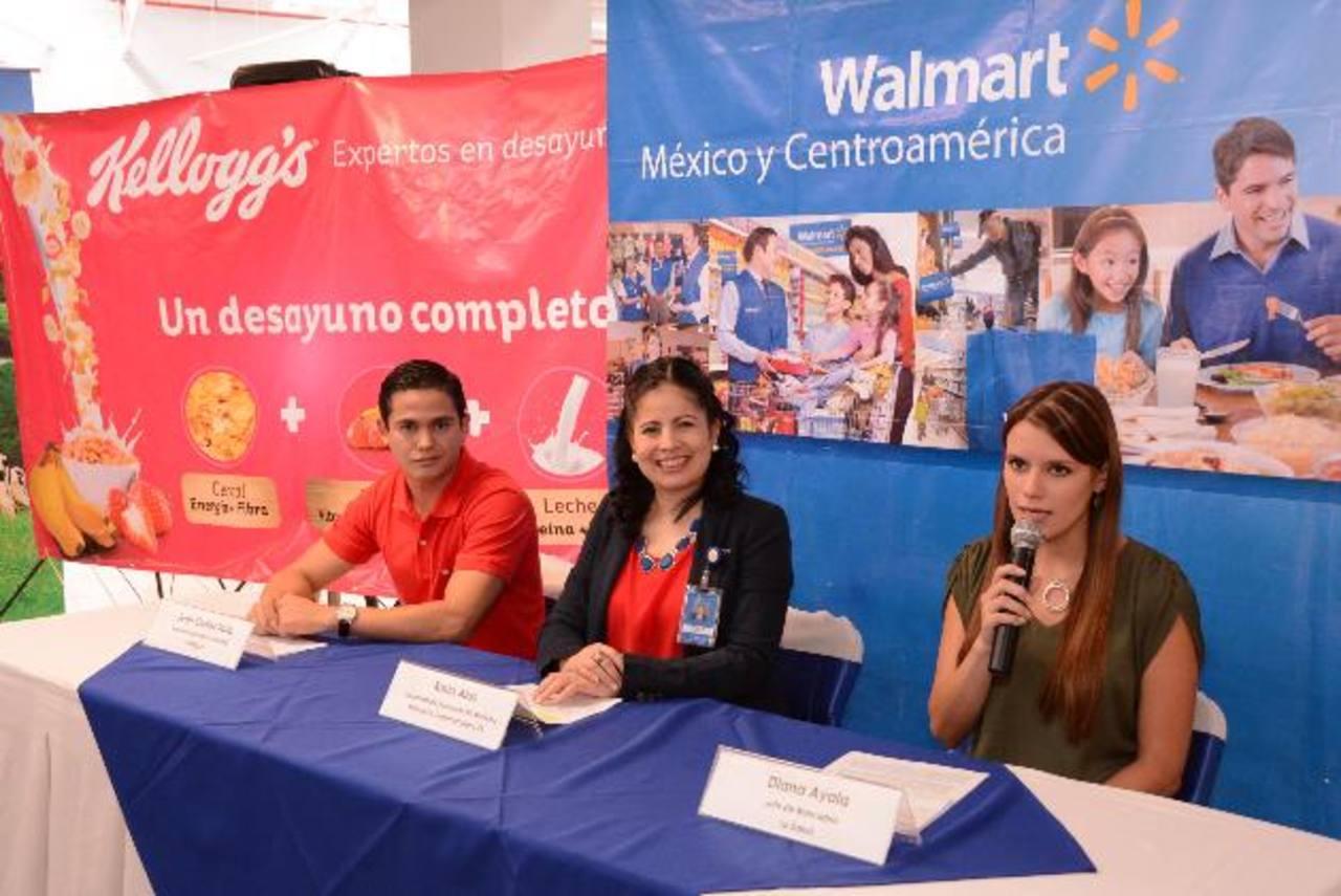 Representantes de las tres marcas presentaron la promoción. Foto EDH / Mario Díaz