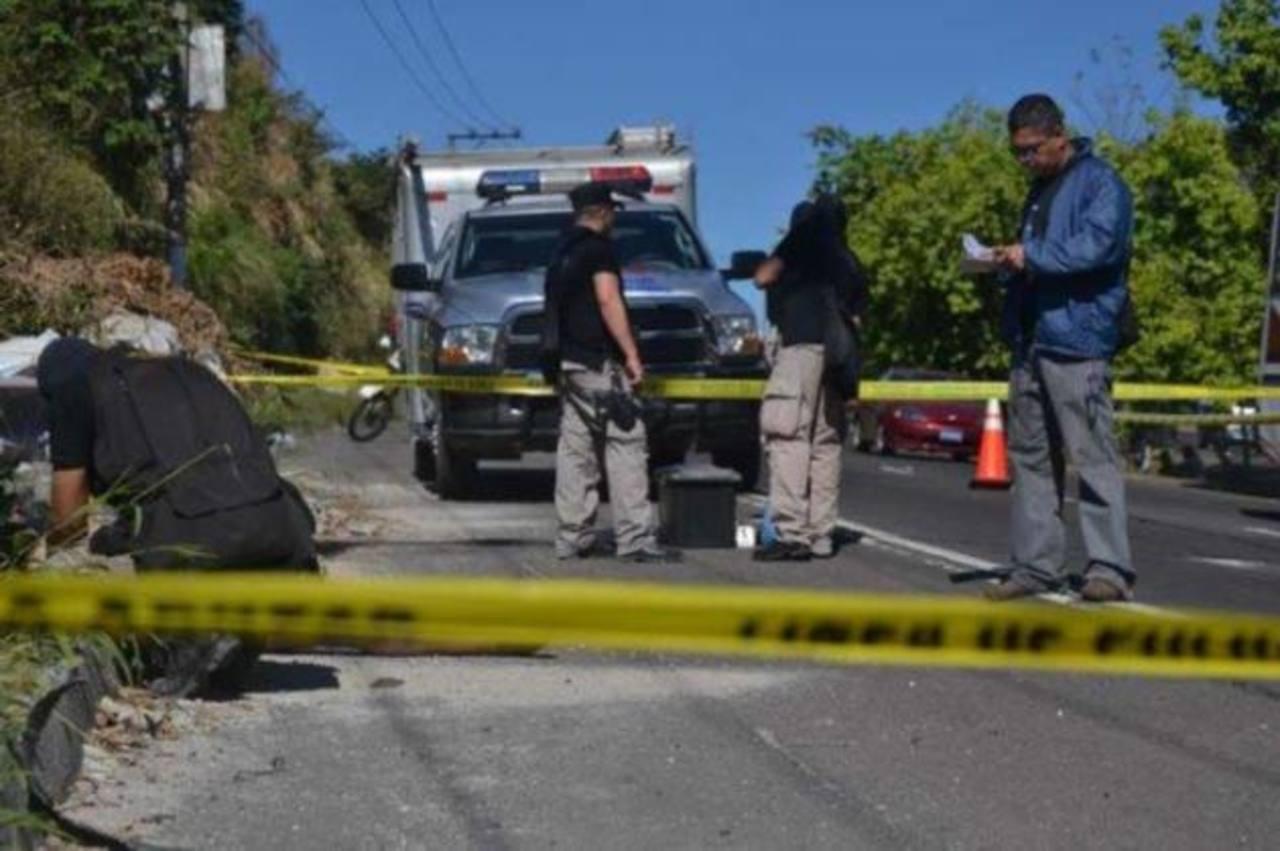 Cuatro pandilleros, entre ellos tres menores, asesinaron al agente.