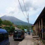 Volcán Chaparrastique visto desde el municipio de San Jorge, San Miguel. Foto: Mauricio Cáceres.
