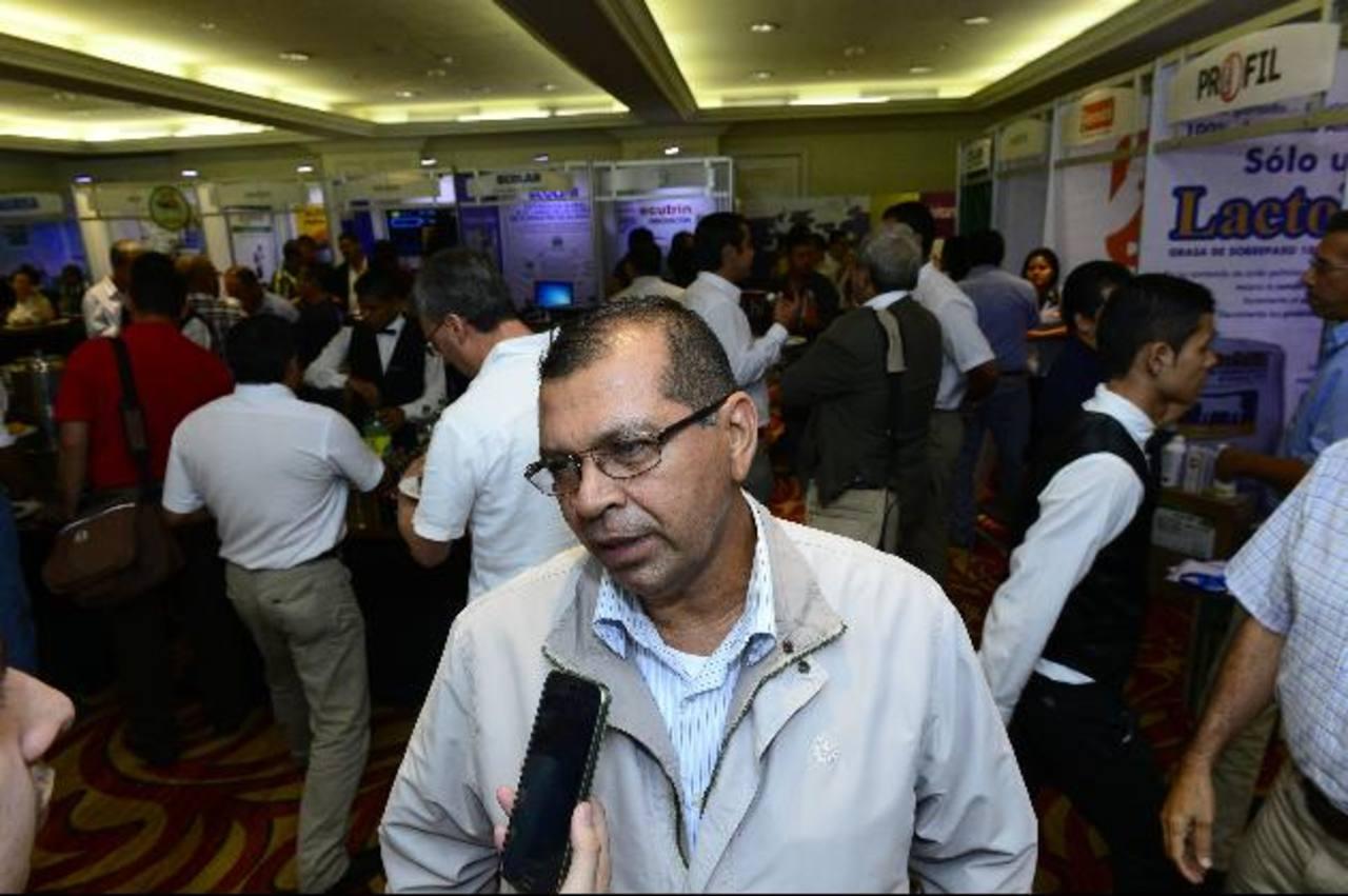 Germán Alvarenga habló sobre problemas del sector .