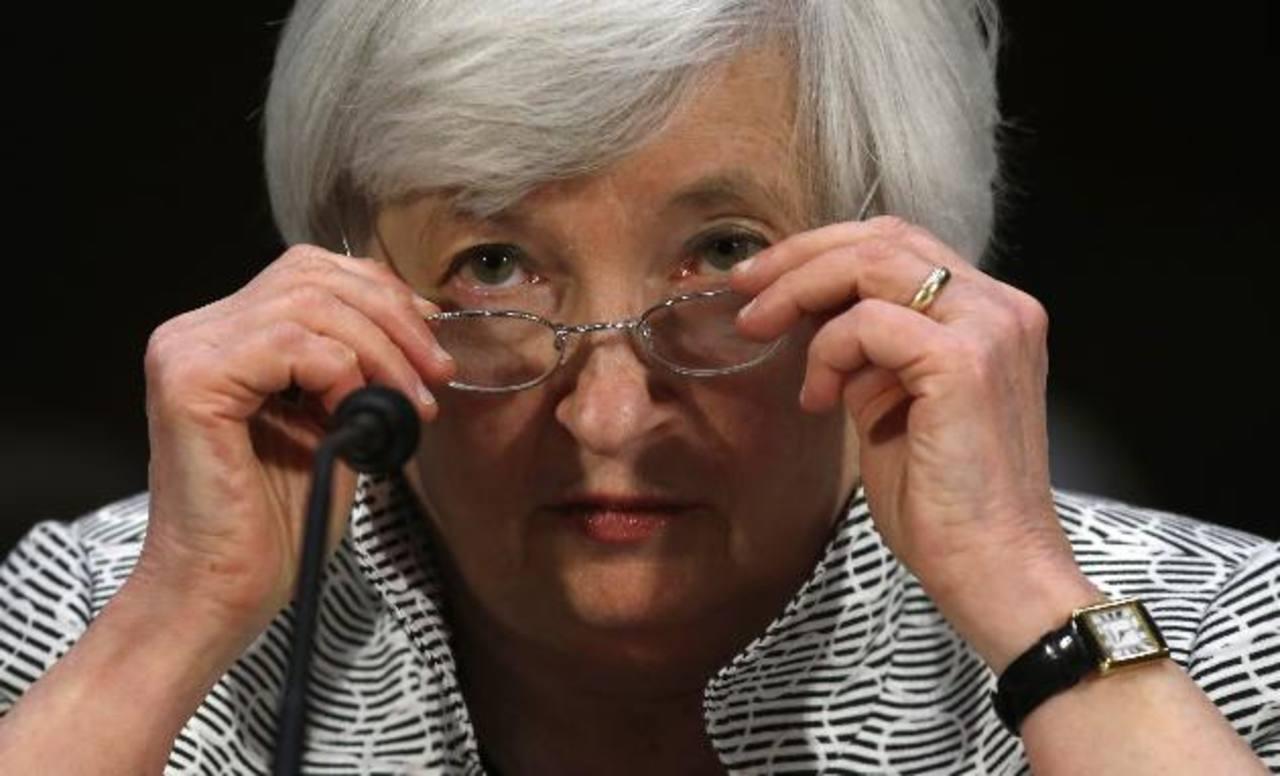 Janet Yellen, presidenta de la Reserva Federal, sigue con detenimiento los mercados.