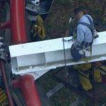 Video: 4 heridos en accidente en montaña rusa en Los Angeles