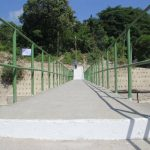 La estructura beneficiará a decenas de pobladores del cantón Changallo en Ilopango. foto edh / cortesía
