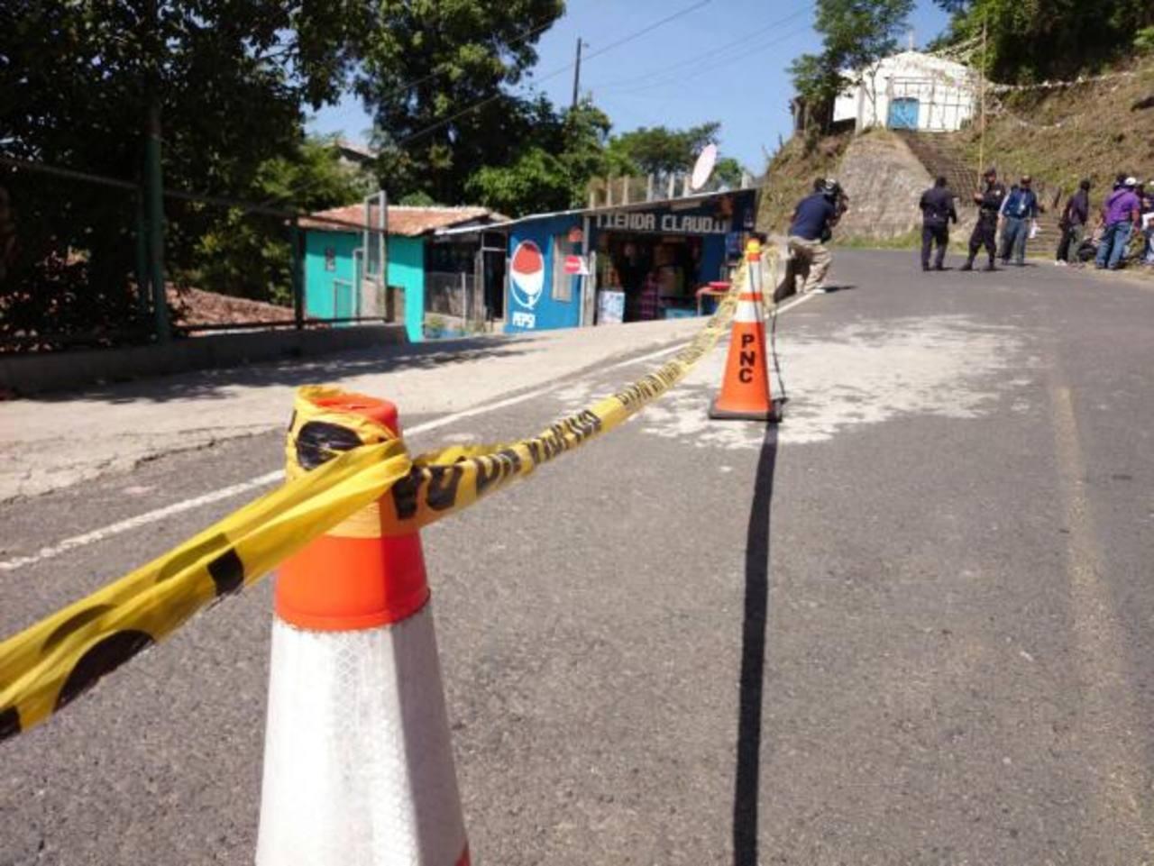 Policías matan a pandillero durante operación antiextorsión en Chalatenango