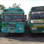 El asalto ocurrió en un autobús de la ruta 125, similar a estos, estacionados en la terminal. foto edh /cortesía radio guazapa.El atraco contra los usuarios de la Ruta 125 fue cometido en el cantón Aldeítas, a las 5:45 de la mañana. Las autoridades d