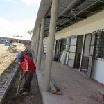Infraestructura está siendo construida en un terreno de 3,646 metros cuadrados. Foto EDH / Roberto Zambrano