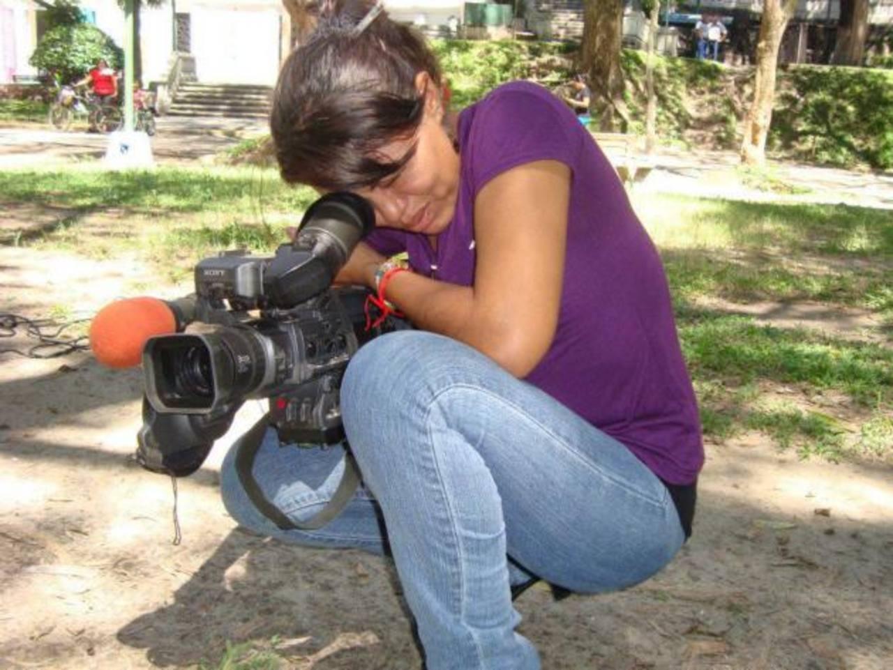 Mélida Antonia Amaya estudió, por un tiempo, comunicaciones, en una universidad privada. Foto EDH / cortesía