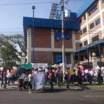 """Manifestantes piden liberación del """"padre Toño"""""""