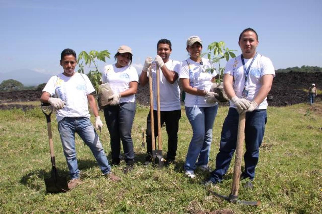 El 11 % de los recursos que las empresas destinan en RSE corresponde al tiempo destinado para actividades de voluntariado. Foto EDH/ Cortesía Walmart