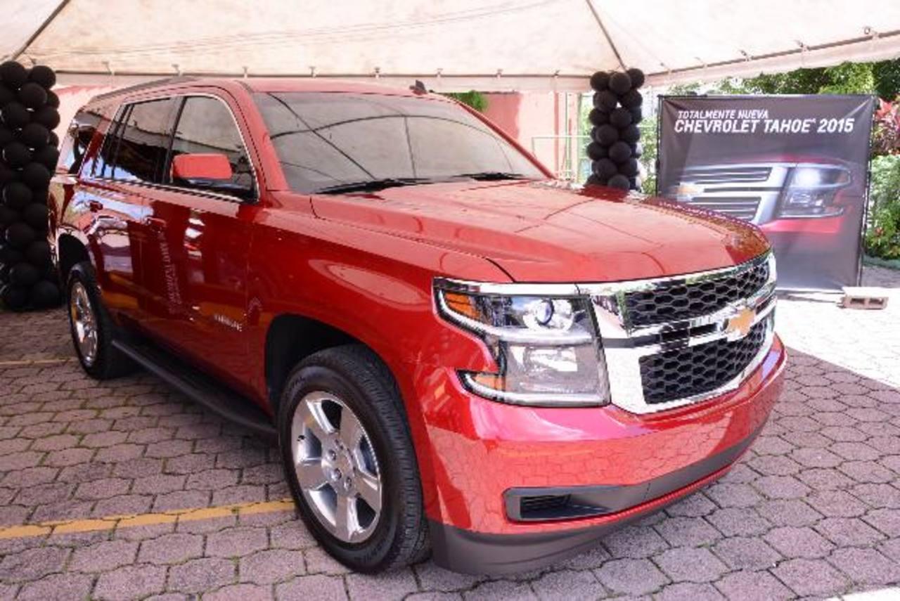 La nueva Chevrolet Tahoe ofrece confort, un diseño contemporáneo y atractivo.