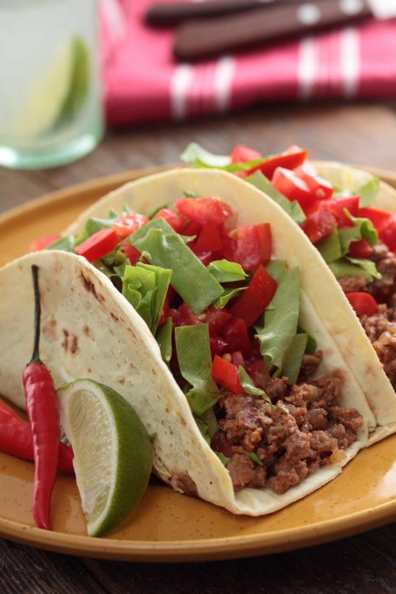 Los tacos, un platillo que encanta a todos. Aprenda novedosas recetas para preparara diferentes opciones. Foto EDH