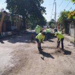 Desde esta semana iniciaron los trabajos de reparación en la colonia Guadalupe. Fotos EDH
