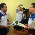 René Portillo Cuadra, excandidato a la vicepresidencia por ARENA, aseguró que el proceso es importante para fortalecer al partido tricolor. Ayer se inscribió para una diputación.