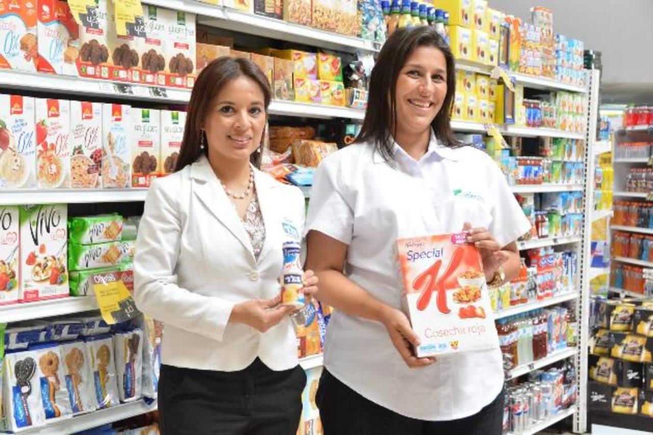 En todas las salas de Selectos, los clientes encontrarán productos para una mejor nutrición.