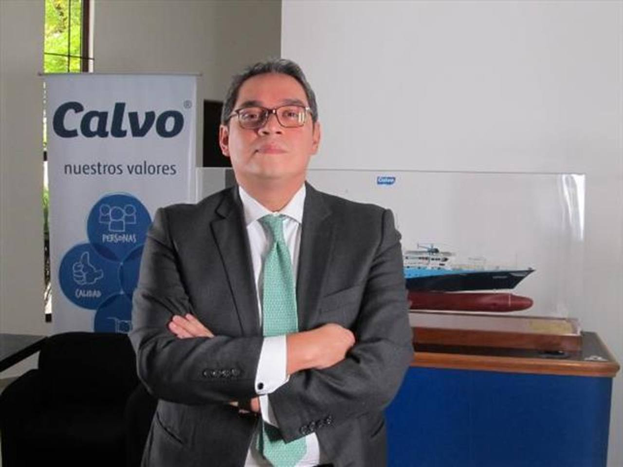 Boris Quintanilla está al frente las operaciones de Calvo en El Salvador desde el año pasado. El profesional asegura que en 2014 las operaciones crecerán entre 10 y 12 %.