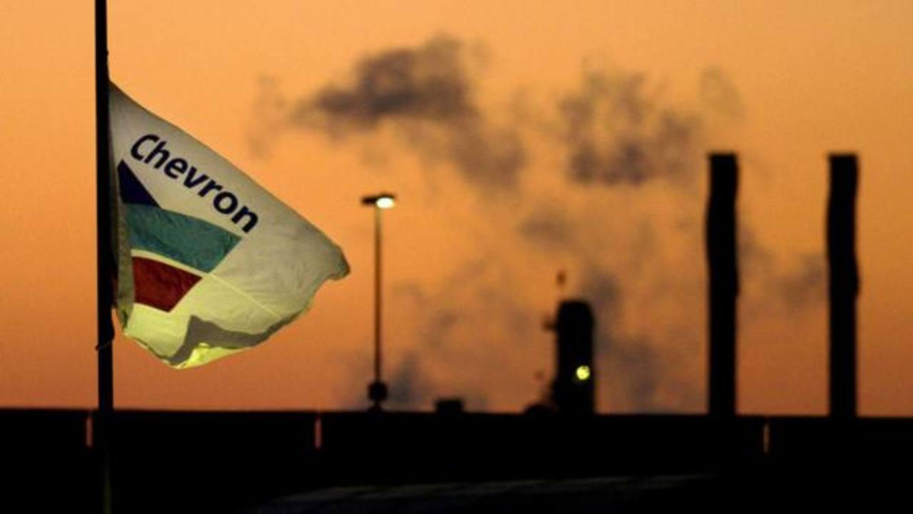 En los últimos tres meses, la producción de Chevron alcanzó en todo el mundo el equivalente de 2.55 millones de barriles diarios.