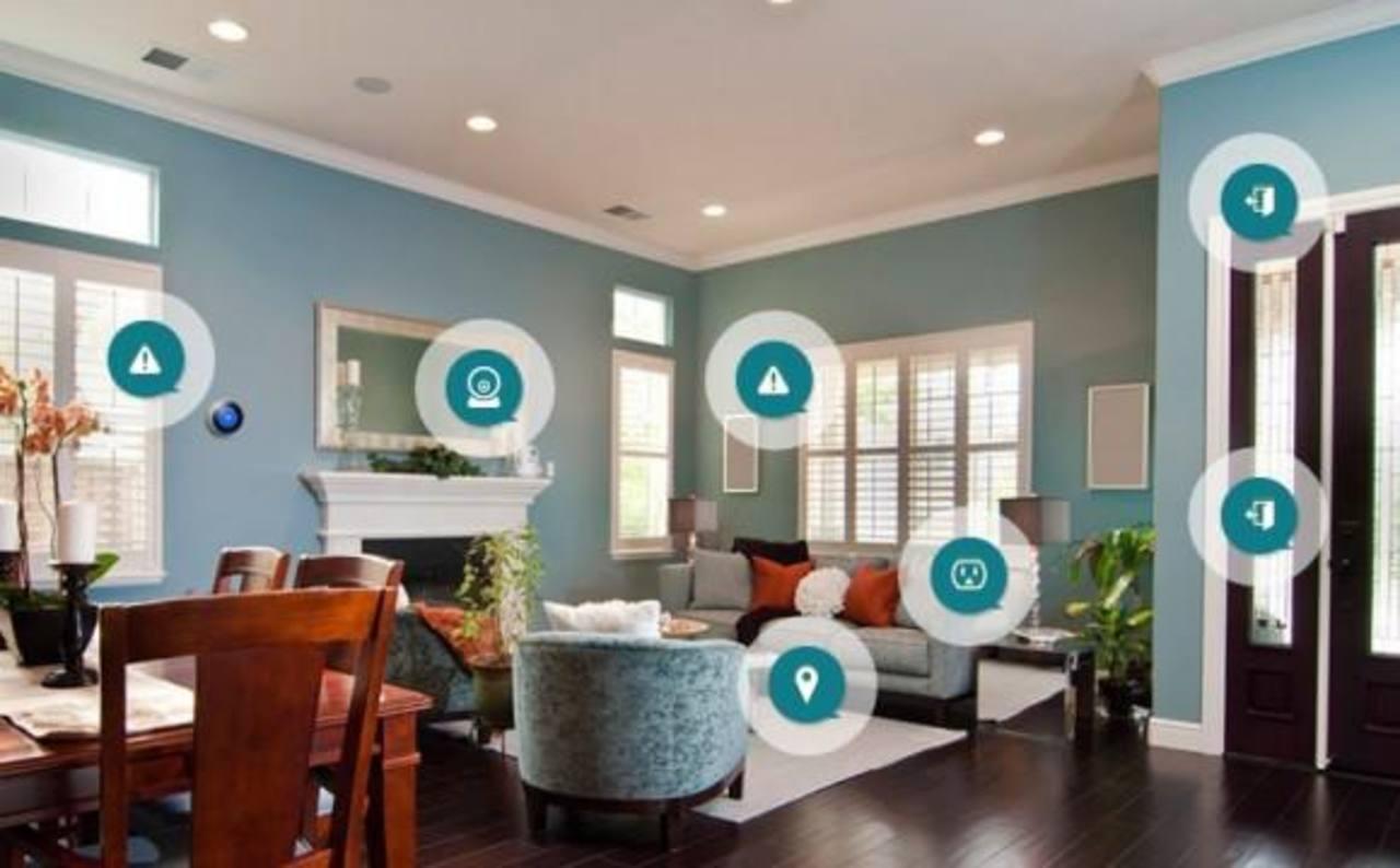 """Los llamados """"hogares inteligentes"""" permiten a los usuarios controlar múltiples electrodomésticos desde un dispositivo móvil y son un área de creciente interés para las empresas de tecnología como Samsung Electronics."""