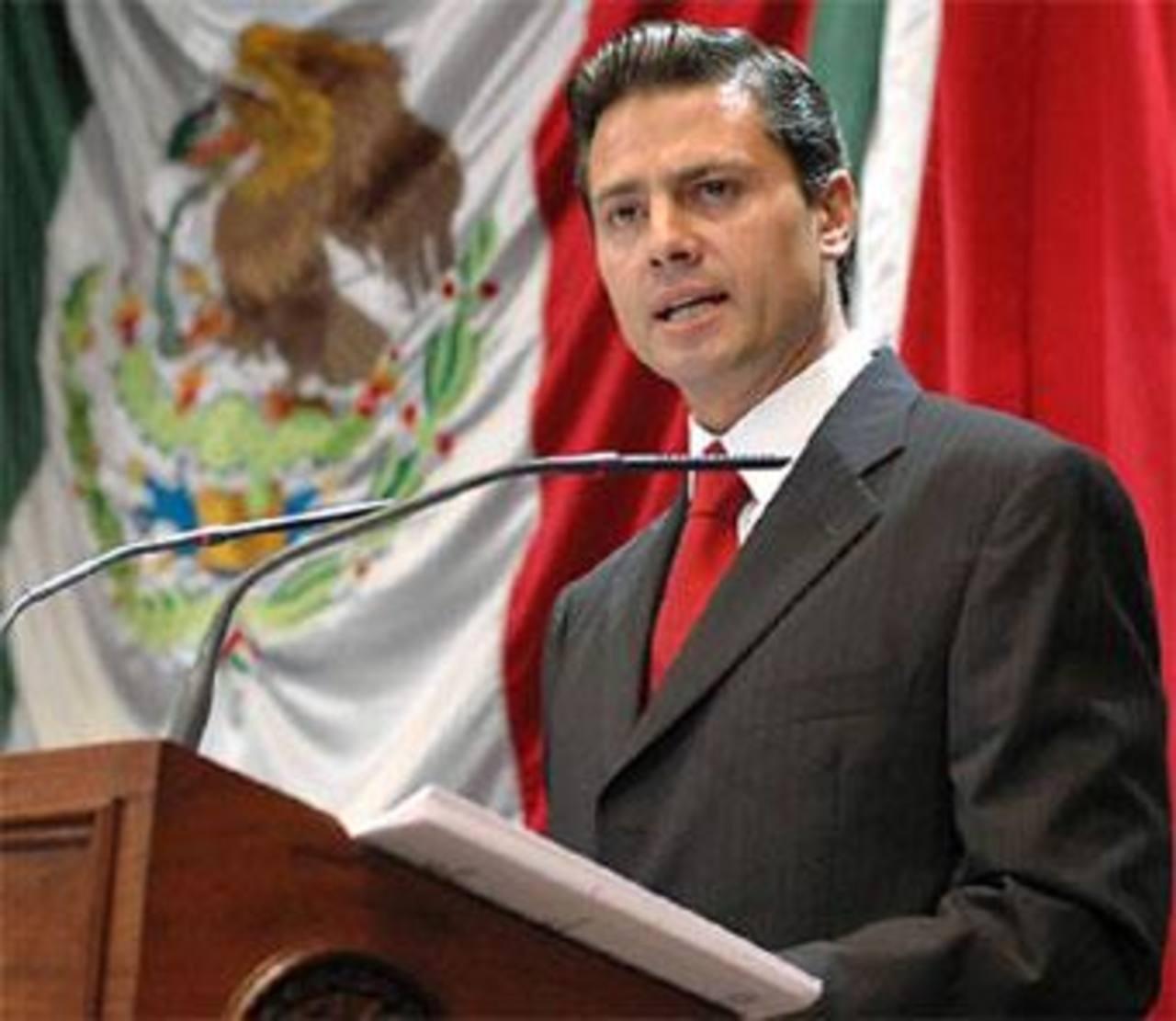 Peña Nieto dijo además que la economía mexicana comienza a exhibir señales de mejoría frente a los primeros meses del año y que espera alcanzar para finales del 2014 la previsión de la Secretaría de Hacienda de una expansión del 2.7 por ciento.