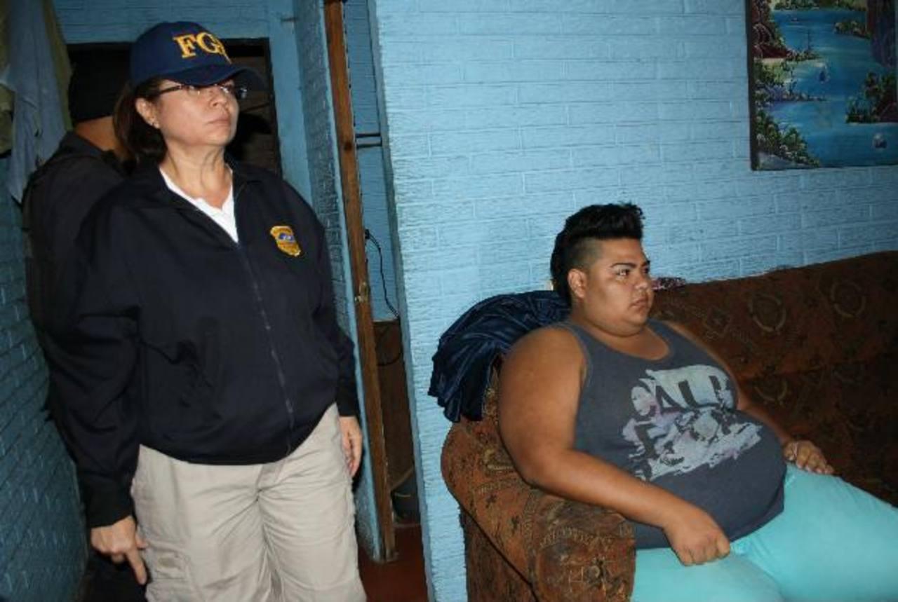 Las capturas de las siete personas se hicieron en varios municipios de San Salvador y La Libertad. Foto EDH / Cortesía FGR.