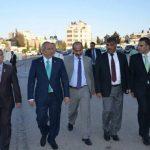 El presidente de la Asamblea (segundo de la izquierda) junto a Manuel Flores, del FMLN (izquierda). foto edh / reuters