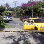 Policía disparó contra un taxi y una persona resultó lesionada