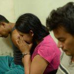 Dos de los tres implicados en el doble asesinato fueron llevados hoy a un tribunal de San Miguel.