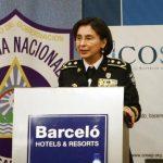 La jefa de la Policía Nacional, Aminta Granera, dio el reporte durante una conferencia.