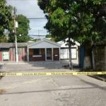Escena de doble homicidio en Ilopango.