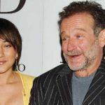 Zelda junto a su padre Robin Williams.