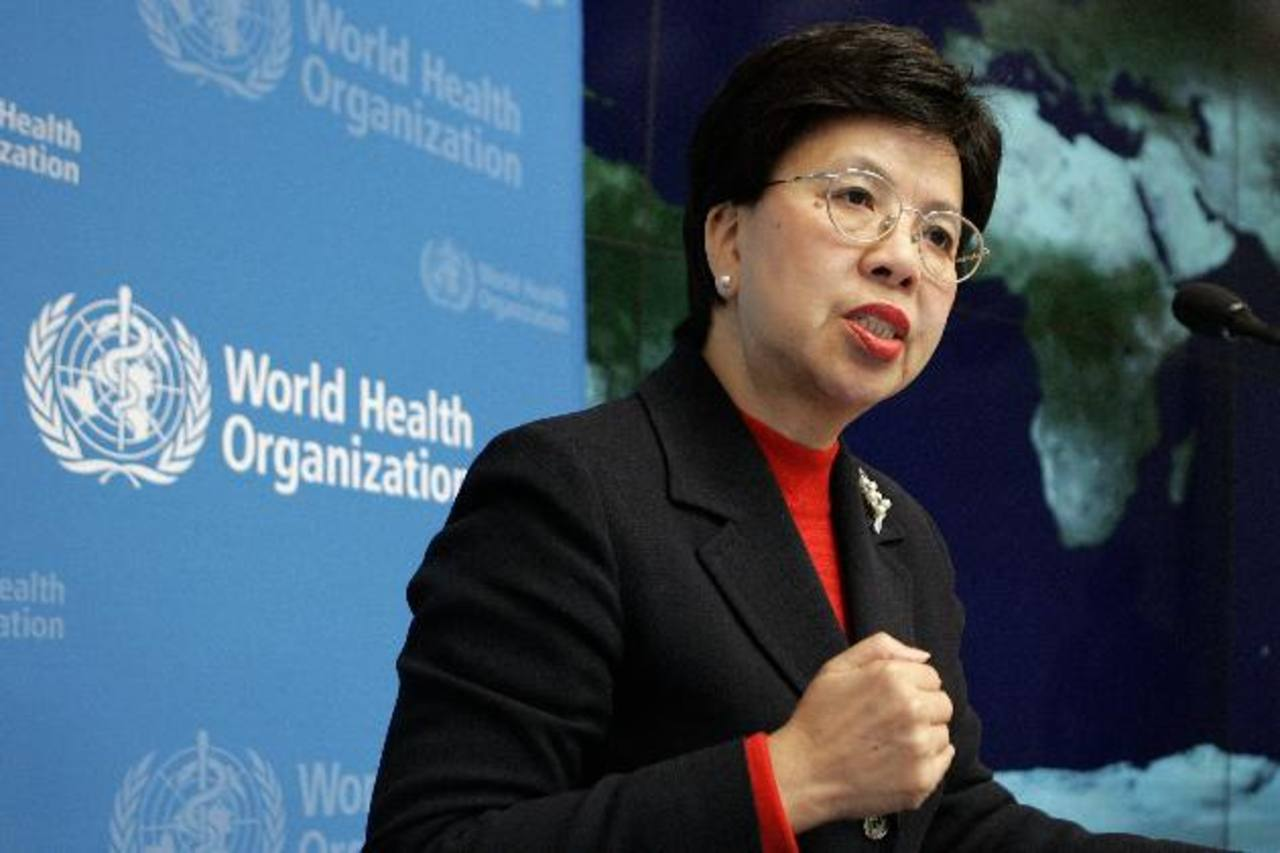 Margaret Chan, directora general de la Organización Mundial de la Salud.