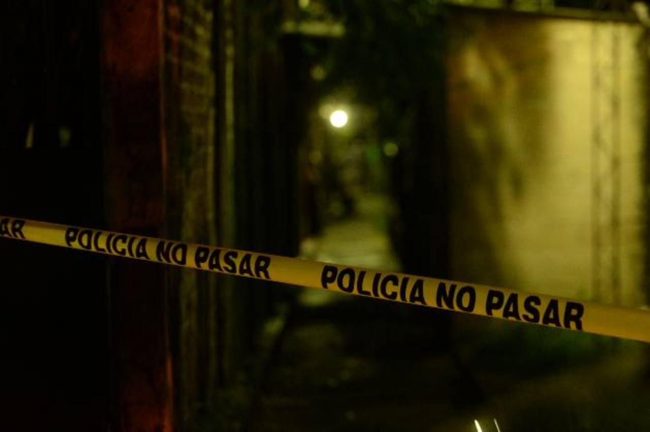 Un marero fue ultimado a balazos el miércoles, en Soyapango. Foto EDH / Marvin Recinos.