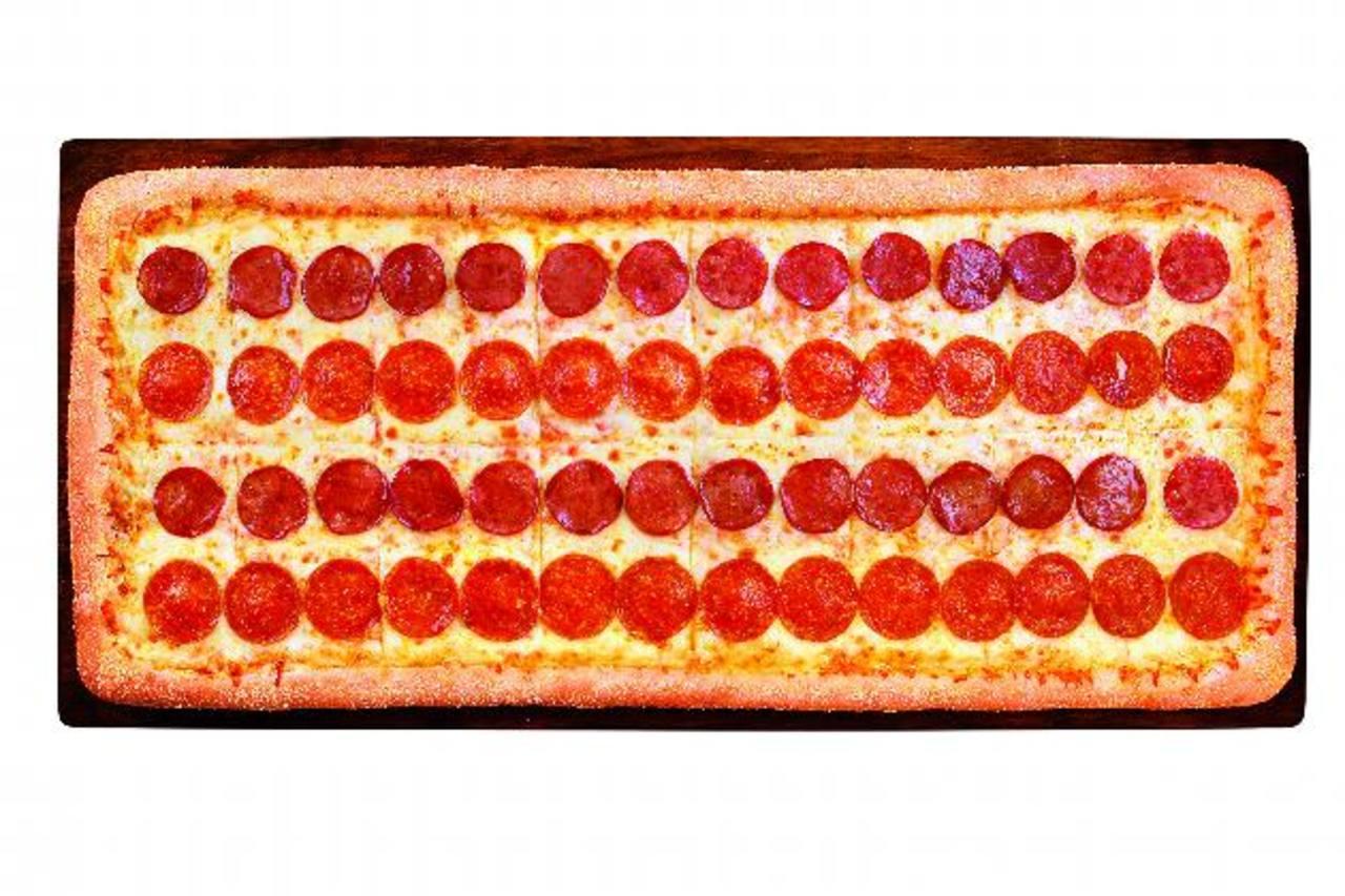 La nueva pizza mezcla dos exquisitos sabores altamente demandados. foto edh / Cortesía