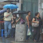 Lluvias con fuertes vientos afectarán mañana a El Salvador